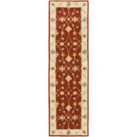 Artistic Weavers Middleton Hattie 2-Foot 3-Inch x 10-Foot Runner in Maroon/Ivory