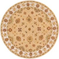 Artistic Weavers Middleton Hattie 8-Foot Round Area Rug in Beige/Ivory