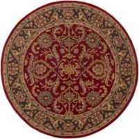 Artistic Weavers Middleton Georgia 3-Foot 6-Inch Round Area Rug in Red