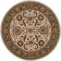 Artistic Weavers Middleton Georgia 3-Foot 6-Inch Round Area Rug in Ivory