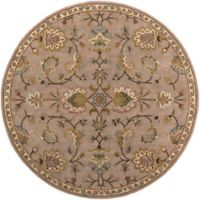 Artistic Weavers Middleton Mallie 3-Foot 6-Inch Round Area Rug in Beige
