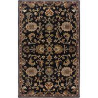 Artistic Weavers Middleton Mallie 3-Foot x 5-Foot Area Rug in Black