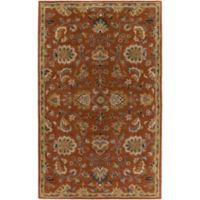Artistic Weavers Middleton Mallie 4-Foot x 6-Foot Area Rug in Rust