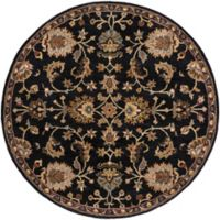 Artistic Weavers Middleton Mallie 8-Foot Round Area Rug in Black