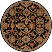 Artistic Weavers Middleton Victoria 3-Foot 6-Inch Round Area Rug in Black