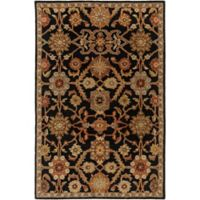 Artistic Weavers Middleton Victoria 4-Foot x 6-Foot Area Rug in Black
