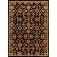 Artistic Weavers Middleton Victoria 7-Foot 6-Inch x 9-Foot 6-Inch Area Rug in Black