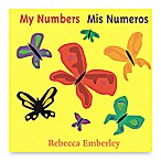 """My Numbers/Mis Numeros"" Bilingual Board Book by Rebecca Emberly (English/Spanish)"