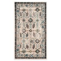 Safavieh Serenity Collection Iris 3-Foot 3-Inch x 5-Foot 3-Inch Area Rug in Cream/Turquoise