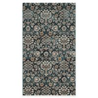 Safavieh Serenity Viola 3-Foot 3-Inch x 5-Foot 3-Inch Area Rug in Turquoise/Cream
