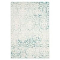 Safavieh Passion Adriana 4-Foot x 5-Foot 7-Inch Area Rug in Ivory/Turquoise