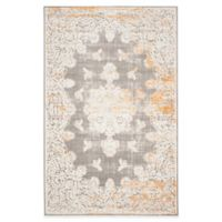Safavieh Passion Cordelia 6-Foot 7-Inch x 9-Foot 2-Inch Area Rug in Grey/Ivory