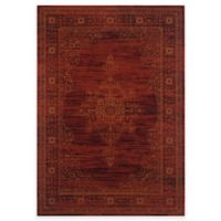 Safavieh Serenity Toby 5-Foot 1-Inch x 7-Foot 6-Inch Area Rug in Ruby/Gold