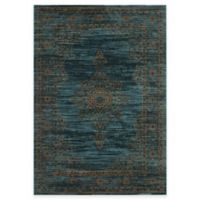 Safavieh Serenity Toby 5-Foot 1-Inch x 7-Foot 6-Inch Area Rug in Turquoise/Gold