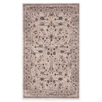 Safavieh Serenity Collection Licata 2-Foot 3-Inch x 3-Foot 9-Inch Accent Rug in Cream/Brown