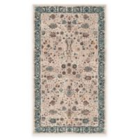 Safavieh Serenity Collection Licata 2-Foot 3-Inch x 3-Foot 9-Inch Accent Rug in Beige/Blue
