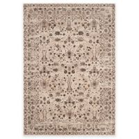 Safavieh Serenity Collection Licata 5-Foot 1-Inch x 7-Foot 6-Inch Area Rug in Cream/Brown