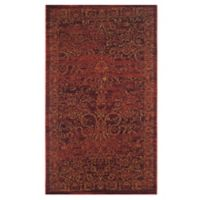 Safavieh Serenity Collection Bianca 3-Foot 3-Inch x 5-Foot 3-Inch Area Rug in Ruby/Gold