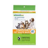 NatureZway™ 60-Count Compostable Pet Waste Bags