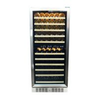NewAir® Premier Gold Series 116 Bottle Wine Cooler in Stainless Steel/Black