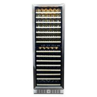 NewAir® Premier Gold Series 160 Bottle Wine Cooler in Stainless Steel/Black
