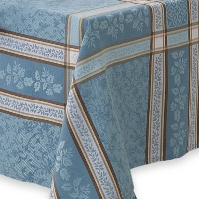 Winchester 60 Inch X 120 Inch Oblong Tablecloth In Blue