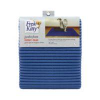 Fresh Kitty™ Jumbo Litter Trapper Mat in Blue