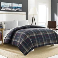 Nautica® Booker Twin Duvet Cover Set in Charcoal
