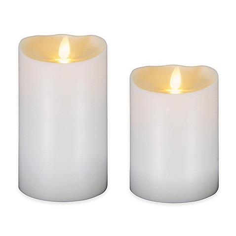 luminara outdoor candles. luminara® flameless outdoor candle in ivory luminara candles n