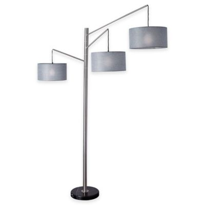 adesso wellington arc lamp - Arc Floor Lamps
