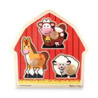 Melissa & Doug® Barnyard Knob Puzzle