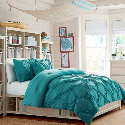 VCNY Monica Twin Comforter Set in Turquoise. Buy Turquoise Comforters Sets from Bed Bath   Beyond