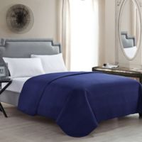 VCNY Columbus King Quilt in Blue