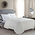 VCNY Columbus King Quilt in Ivory