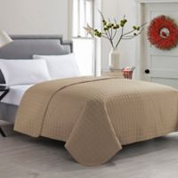 VCNY Jackson Full/Queen Quilt in Taupe