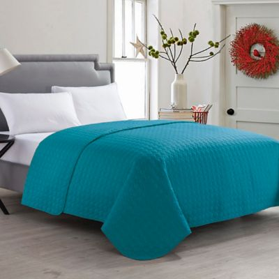 Buy Teal Quilts From Bed Bath Amp Beyond