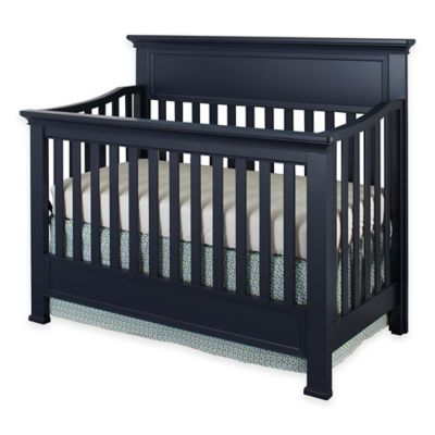 Westwood Design Nursery Furniture Collection U003e Westwood Design Wyatt  Convertible Crib In Navy