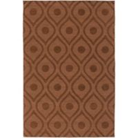 Artistic Weavers Central Park Zara 4-Foot x 6-Foot Area Rug in Brown