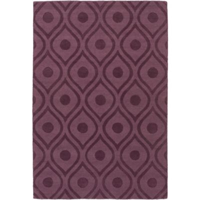 Ordinaire Artistic Weavers Central Park Zara 4 Foot X 6 Foot Area Rug Purple