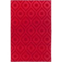 Artistic Weavers Central Park Zara 4-Foot x 6-Foot Area Rug in Red