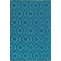Artistic Weavers Central Park Zara 4-Foot x 6-Foot Area Rug in Teal