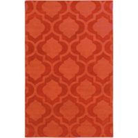 Artistic Weavers Central Park Kate 4-Foot x 6-Foot Area Rug in Orange