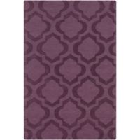 Artistic Weavers Central Park Kate 4-Foot x 6-Foot Area Rug in Purple