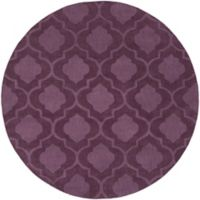 Artistic Weavers Central Park Kate 6-Foot Round Area Rug in Purple