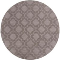 Artistic Weavers Central Park Kate 6-Foot Round Area Rug in Grey