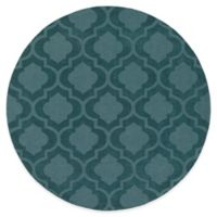 Artistic Weavers Central Park Kate 6-Foot Round Area Rug in Teal