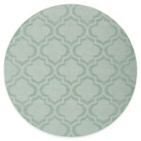 Artistic Weavers Central Park Kate 6-Foot Round Area Rug in Light Blue