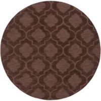 Artistic Weavers Central Park Kate 6-Foot Round Area Rug in Brown
