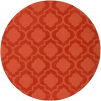 Artistic Weavers Central Park Kate 9-Foot 9-Inch Round Area Rug in Orange