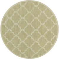 Artistic Weavers Central Park Abbey 6-Foot Round Area Rug in Sage
